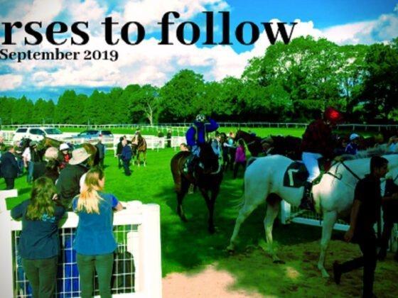Horses to follow 30th September 2019