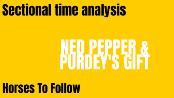 Ned Pepper & Purdey's Gift Horses To Follow