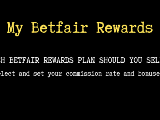 My Betfair rewards plan