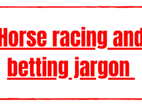 Horse racing and betting jargon explained