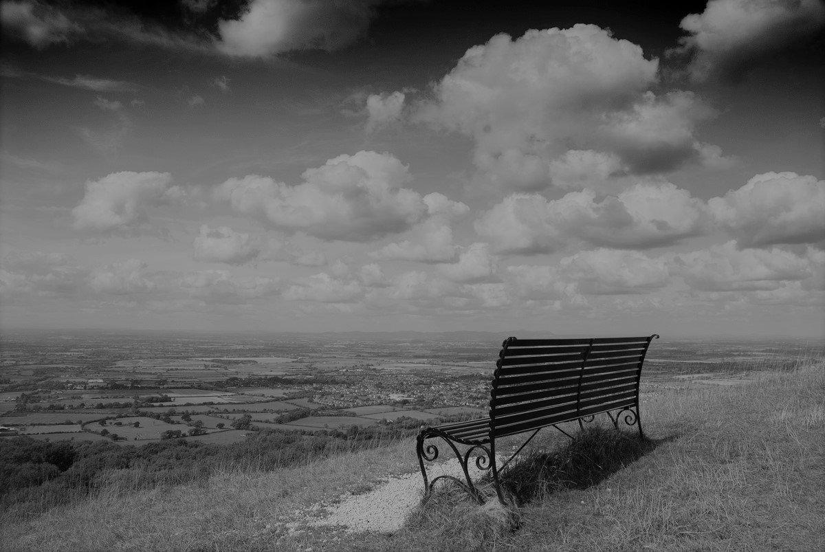 Cheltenham Cleeve Hill Bench